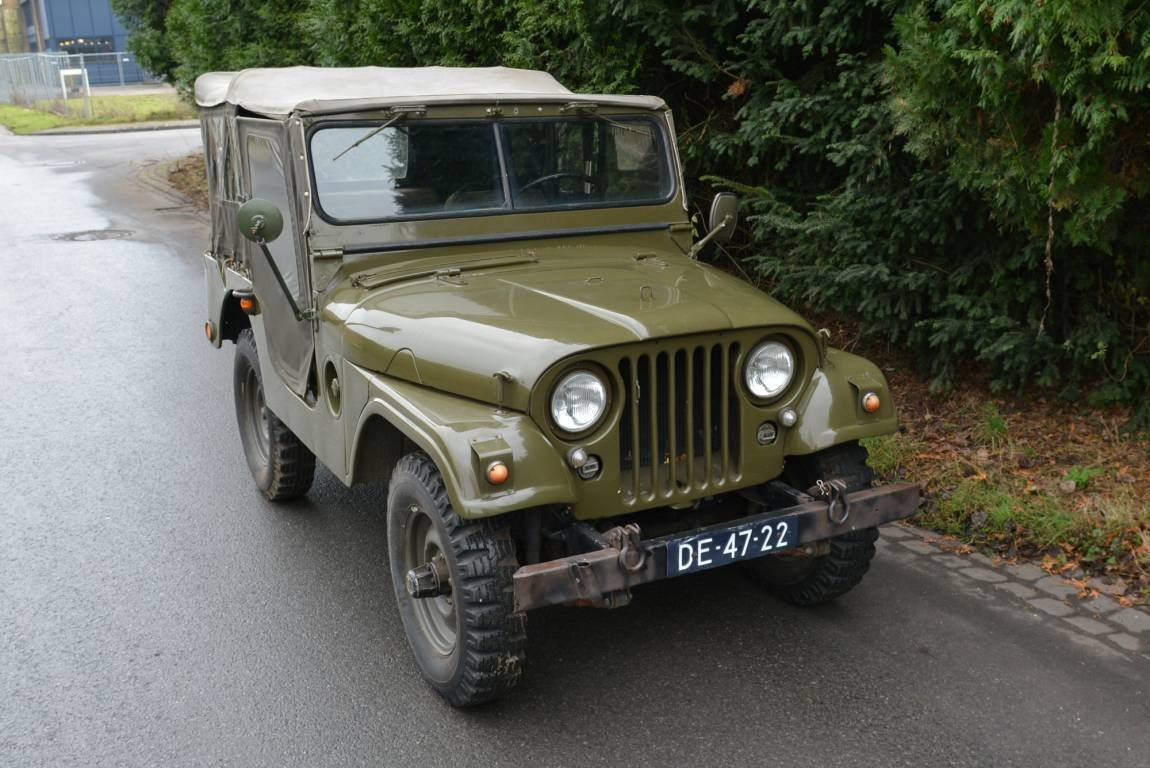 1956 Jeep Nekaf M38A1 4WD Niederl?ndische Papiere For Sale (picture 1 of 6)