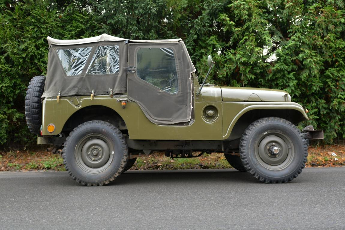 1956 Jeep Nekaf M38A1 4WD Niederl?ndische Papiere For Sale (picture 2 of 6)
