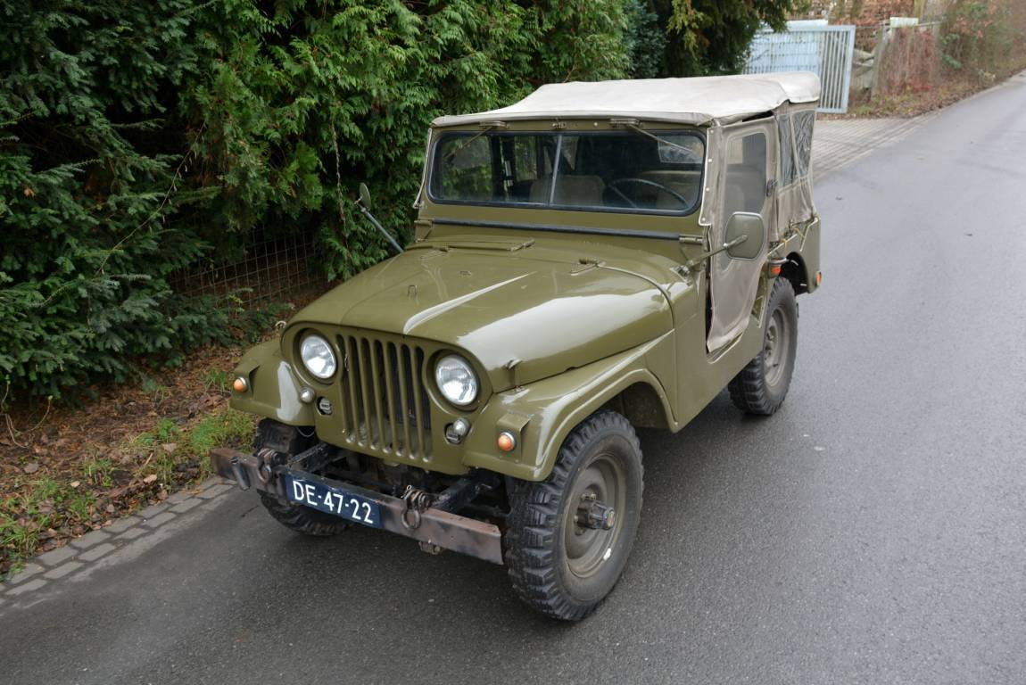 1956 Jeep Nekaf M38A1 4WD Niederl?ndische Papiere For Sale (picture 3 of 6)