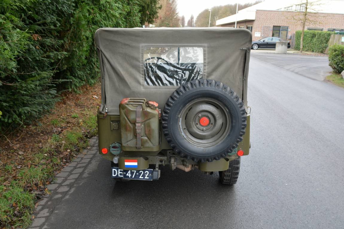 1956 Jeep Nekaf M38A1 4WD Niederl?ndische Papiere For Sale (picture 5 of 6)