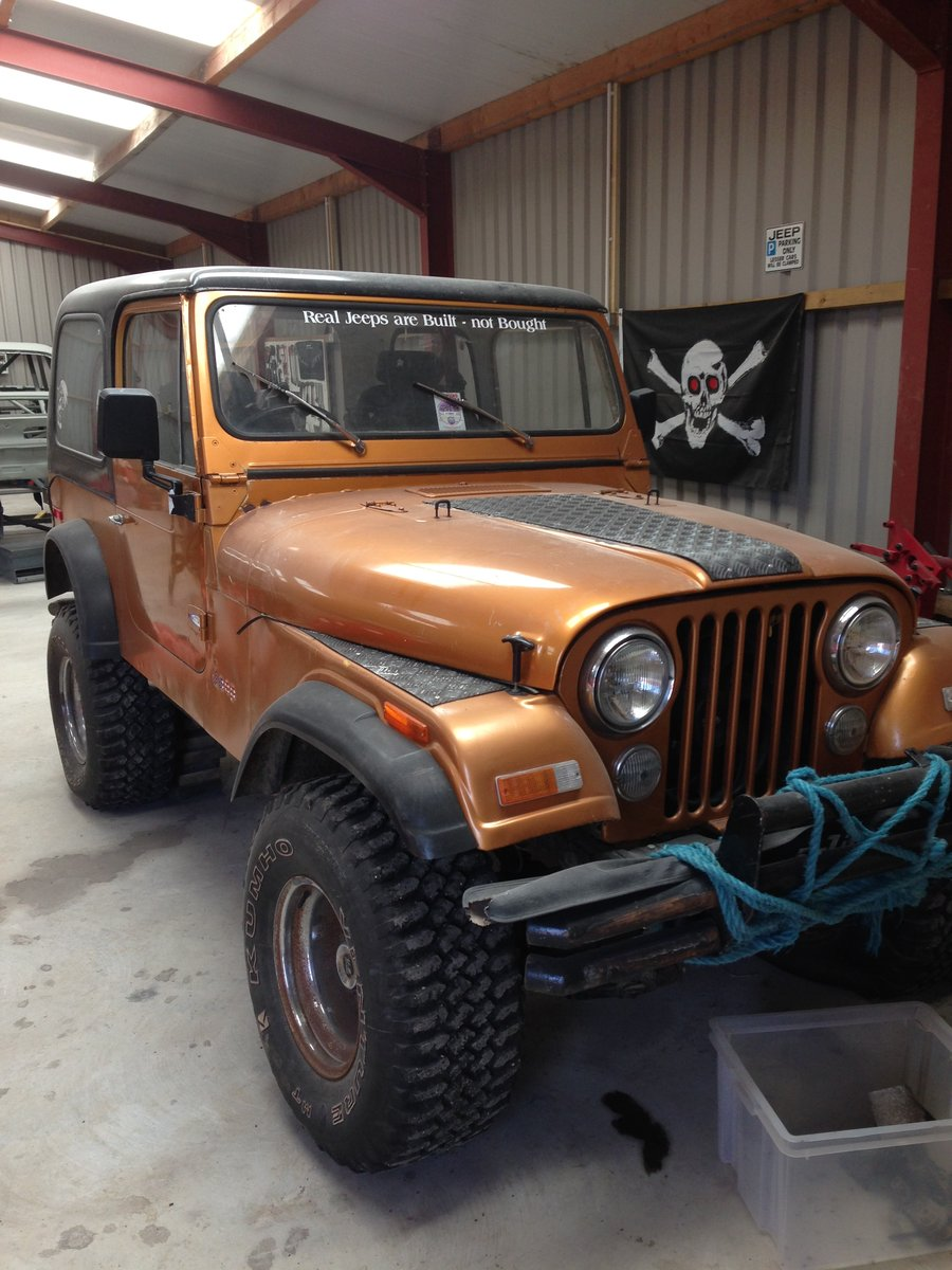 1981 Jeep CJ7 Unfinished Project SOLD (picture 1 of 6)