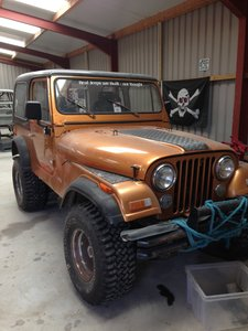 1981 Jeep CJ7 Unfinished Project For Sale