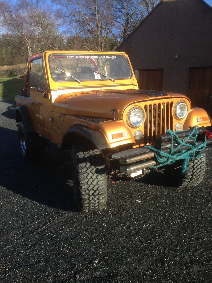 1981 Jeep CJ7 Unfinished Project SOLD (picture 2 of 6)