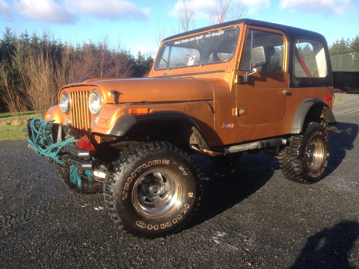 1981 Jeep CJ7 Unfinished Project SOLD (picture 6 of 6)