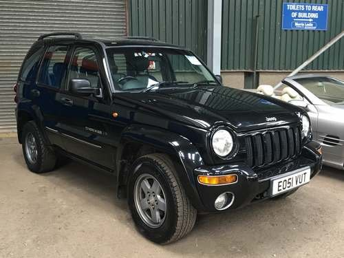 2002 Jeep Cherokee Ltd at Morris Leslie Auctions SOLD by Auction (picture 1 of 2)