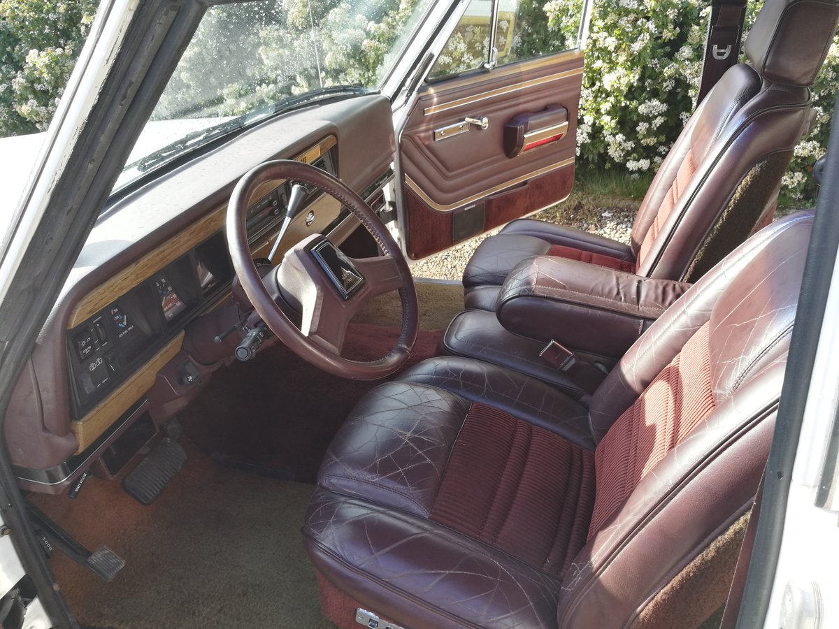 1991 Jeep Grand Wagoneer Final Edition For Sale (picture 5 of 6)