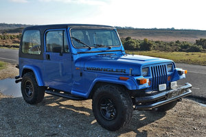 1994 Jeep Wrangler YJ Manual 95k 4x4 MOT 11/19 VGC