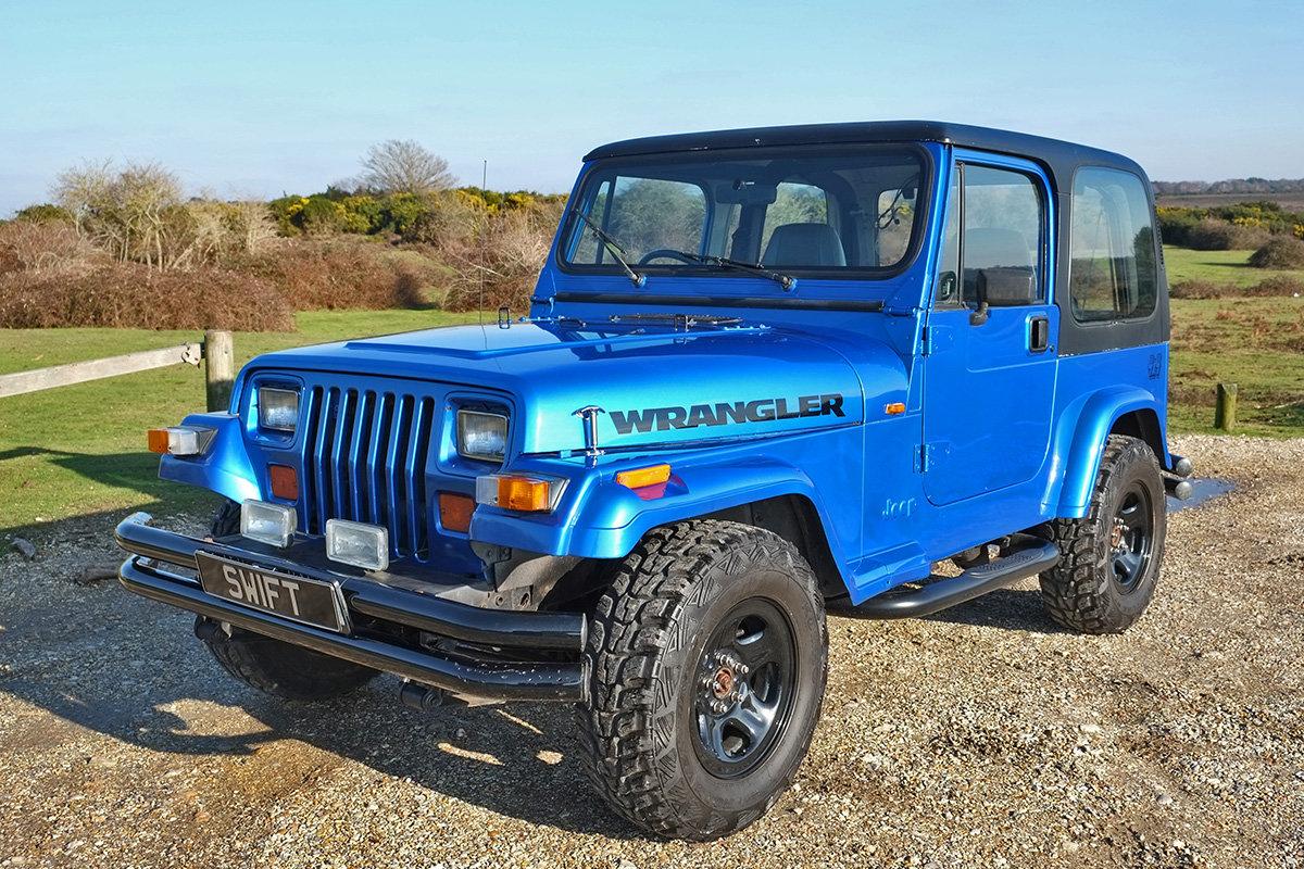 1994 Jeep Wrangler YJ Manual 95k 4x4 MOT 11/19 VGC For Sale (picture 2 of 6)