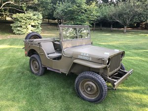 1942 WW2 Ford script GPW For Sale