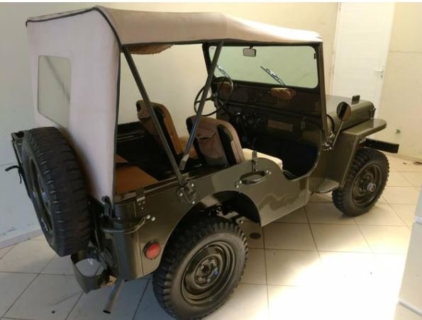 1951 Jeep Willys For Sale (picture 5 of 6)
