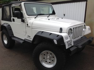 2004 Jeep Wrangler from Japan, Automatic, 47k miles
