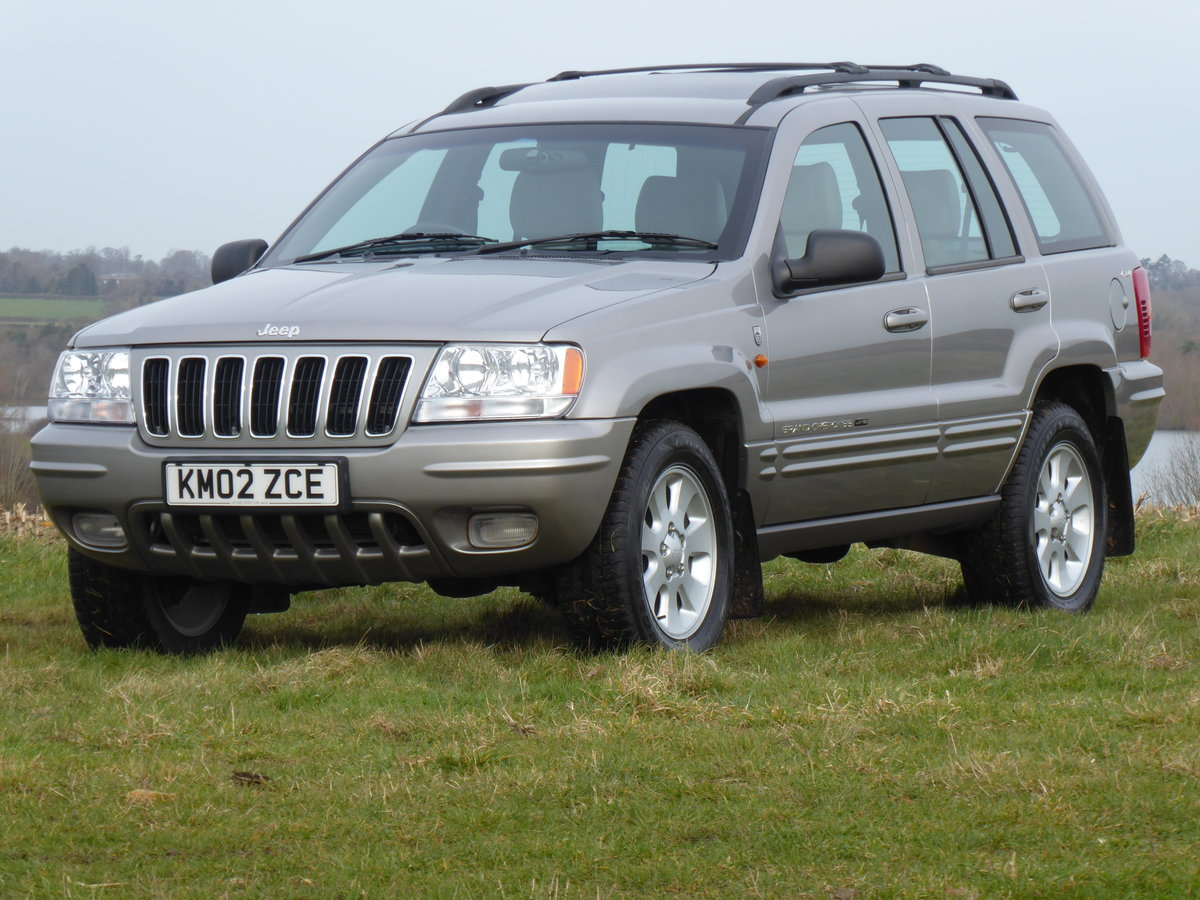 2002 Jeep Grand Cherokee 60th A 4.7 V8 77k Full History 1 x Owner For Sale (picture 1 of 6)