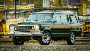 1977 Jeep Wagoneer = Go Green(~)Ginger Auto 85k miles For Sale