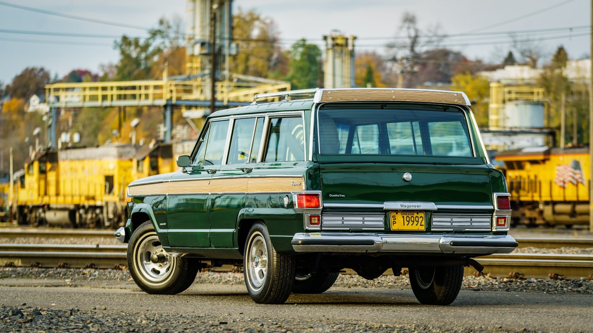 1977 Jeep Wagoneer = Go Green(~)Ginger Auto 85k miles For Sale (picture 3 of 6)