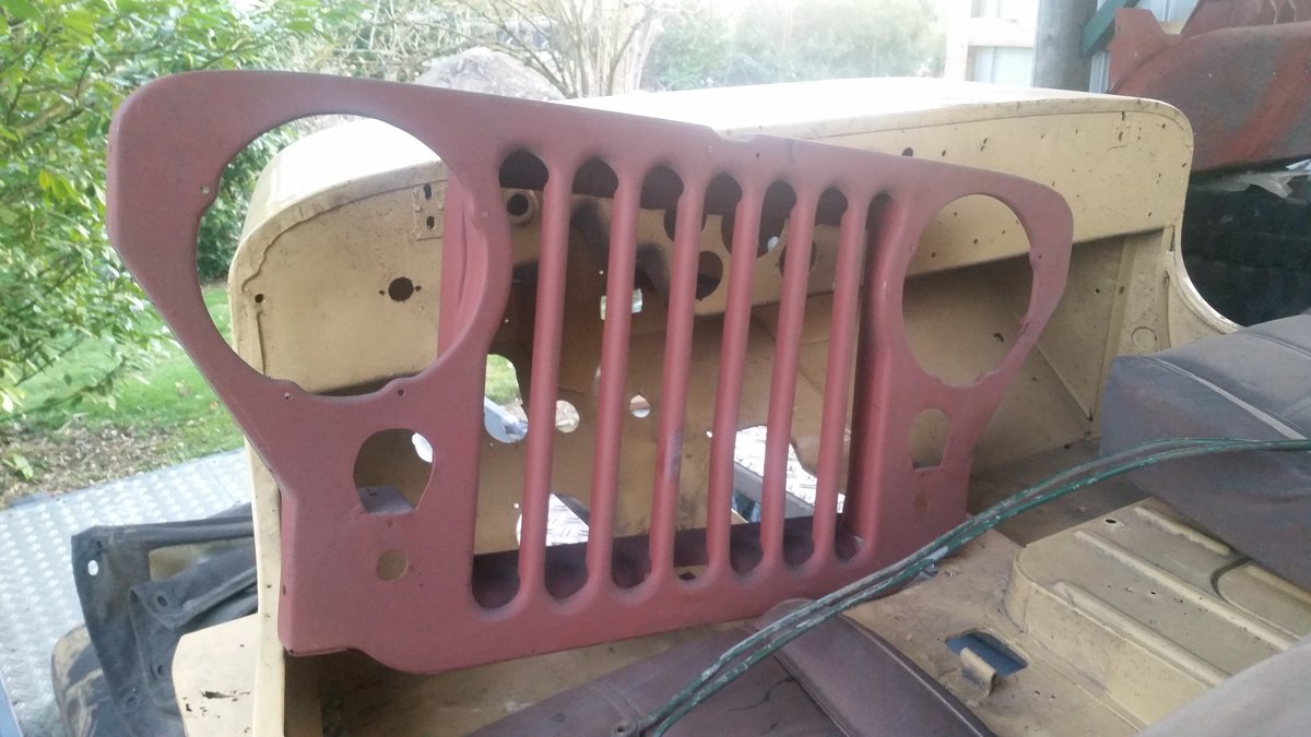 1955 Willys Overland M38 barnfind For Sale (picture 1 of 6)