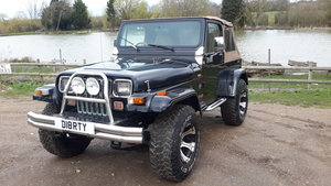 JEEP WRANGLER 4.0 LIMITED YJ 1994 For Sale