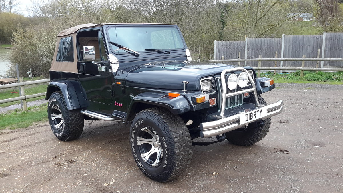 JEEP WRANGLER 4.0 LIMITED YJ 1994 For Sale (picture 2 of 6)