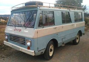 1974 JEEP VAN MINIBUS 4x4- 4 Wheel drive 9 seater  For Sale