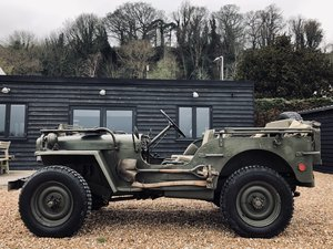1956 Willys Hotchkiss Jeep Paris built & WW2 parts For Sale
