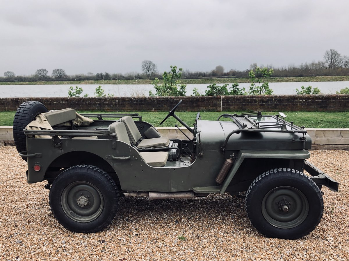1956 Willys Hotchkiss Jeep Paris built & WW2 parts For Sale (picture 2 of 6)