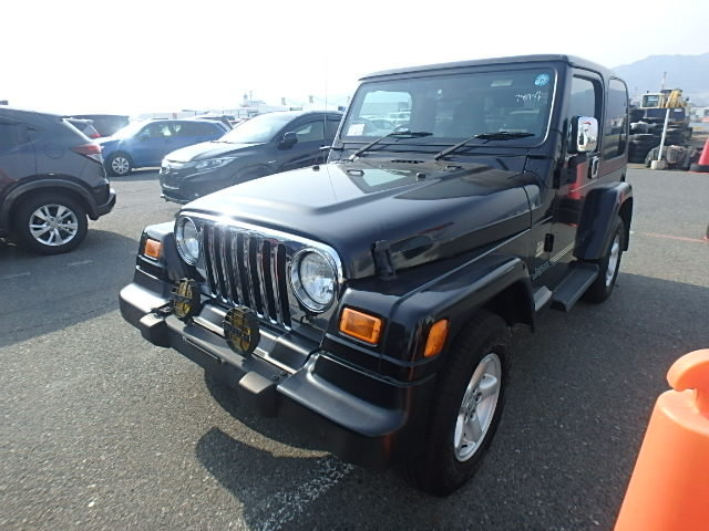 2005 Jeep Wrangler Sahara 4.0 Auto TJ from Japan, 56k miles For Sale (picture 1 of 6)