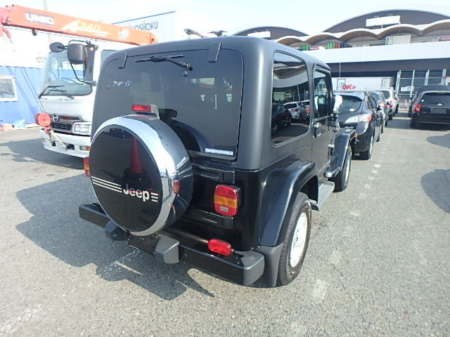 2005 Jeep Wrangler Sahara 4.0 Auto TJ from Japan, 56k miles For Sale (picture 3 of 6)