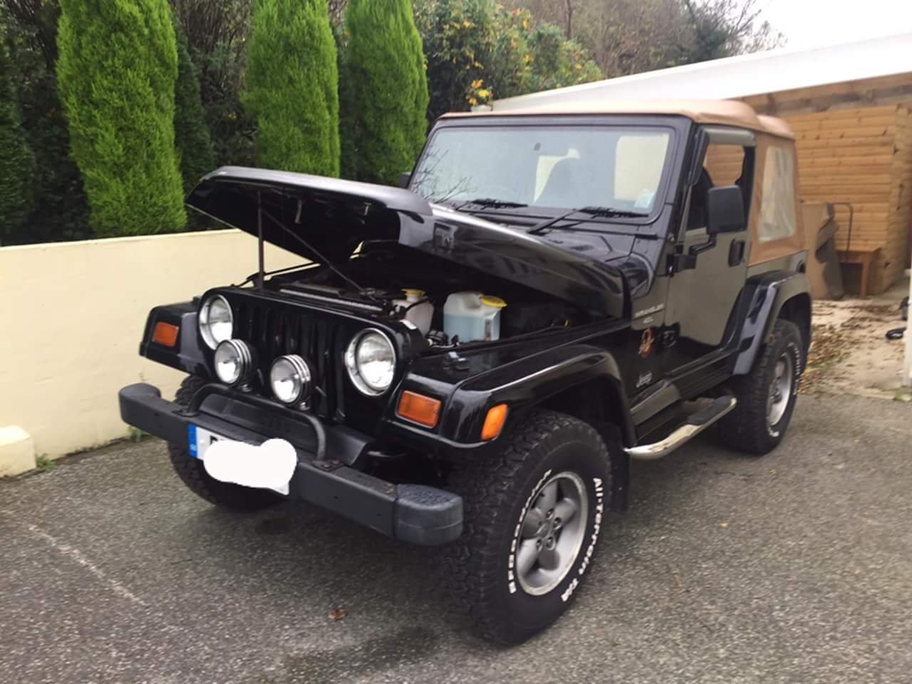 1997 4.0 manual jeep wrangler sahara For Sale (picture 5 of 6)