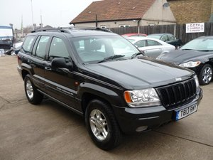 1999   Jeep Grand Cherokee 4.7 V8 Limited 4x4 5dr SOLD