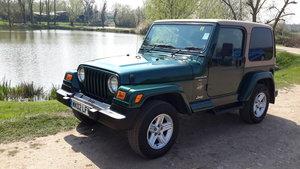 JEEP WRANGLER 4.0 SAHARA AUTOMATIC 2002  74000 MILES For Sale