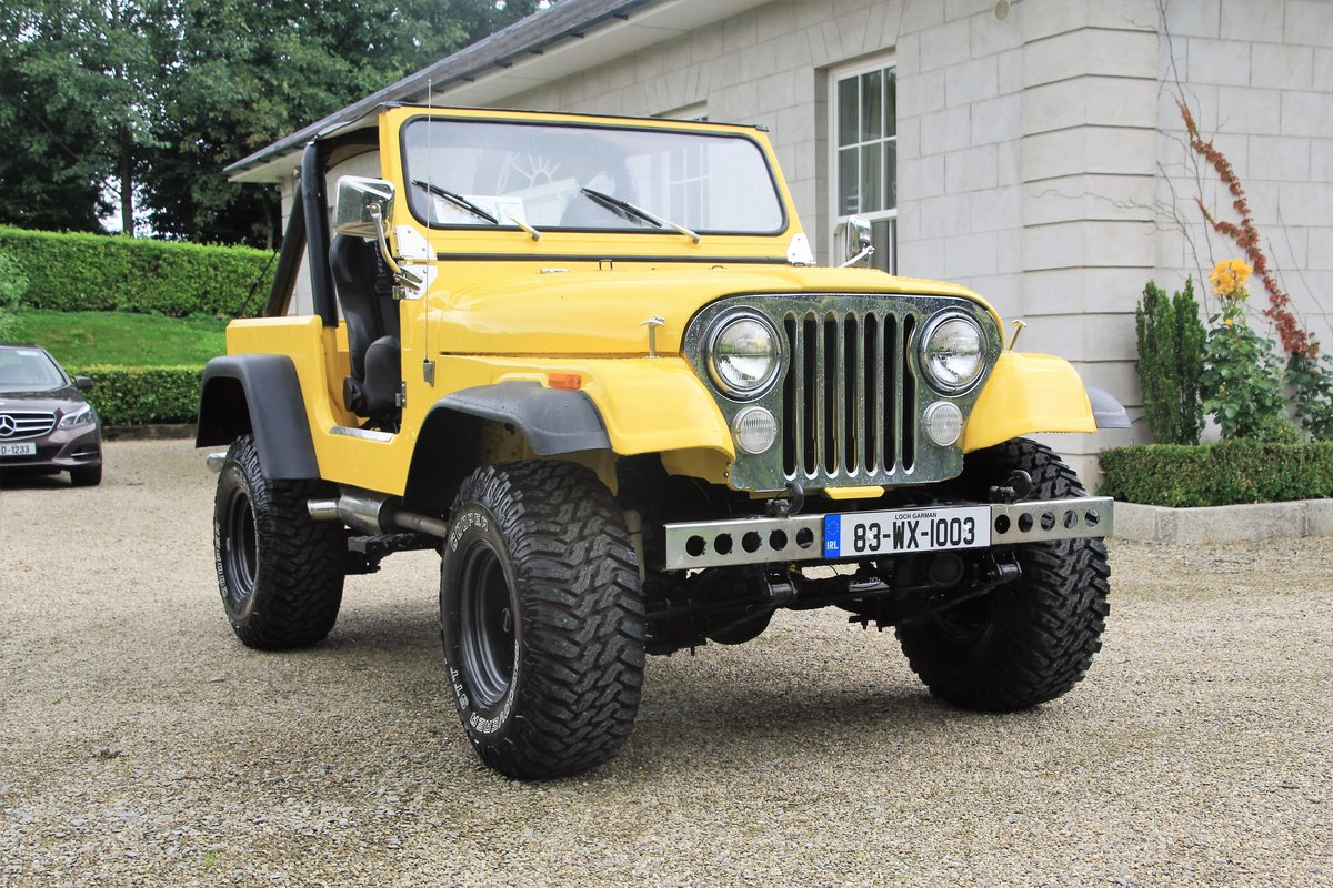1983 One of a kind Fully Restored Jeep CJ7 For Sale (picture 2 of 6)