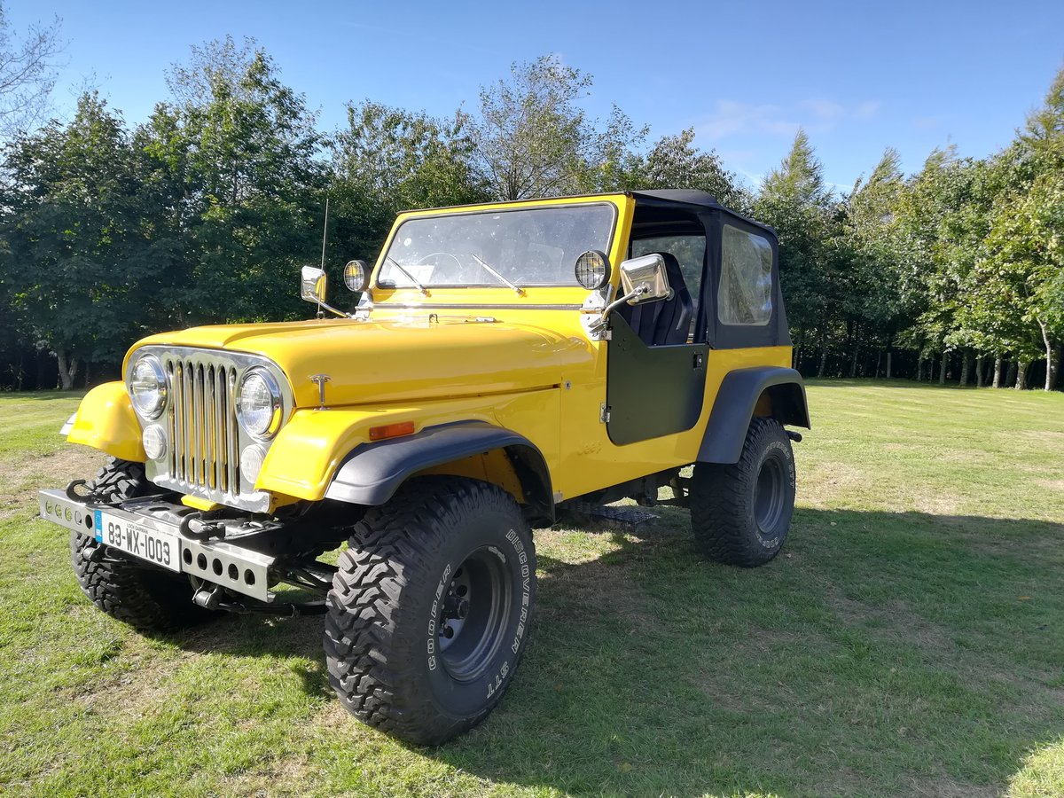 1983 One of a kind Fully Restored Jeep CJ7 For Sale (picture 1 of 6)