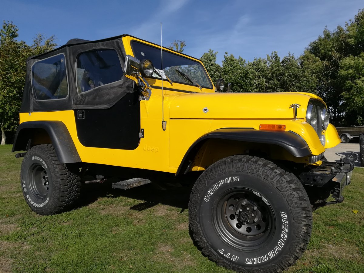 1983 One of a kind Fully Restored Jeep CJ7 For Sale (picture 4 of 6)