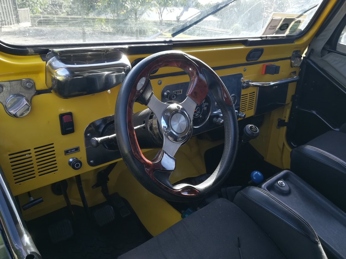 1983 One of a kind Fully Restored Jeep CJ7 For Sale (picture 6 of 6)
