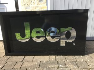 Jeep mirror sign black ideal