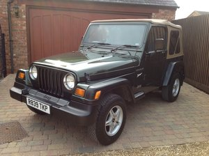 1998 Jeep Wrangler 2.5 Sport Soft Top Low Mileage  For Sale
