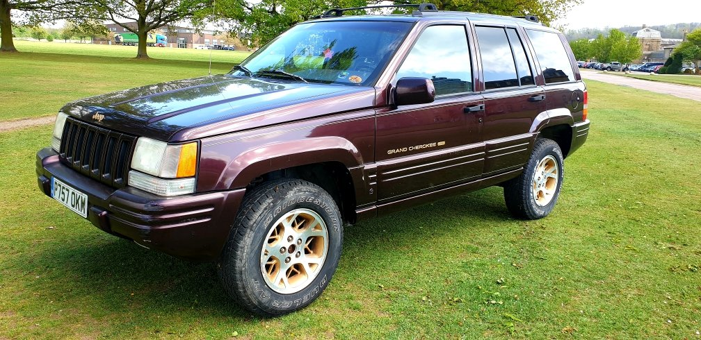 LHD 1997 JEEP GRAND CHEROKEE, 4.0 V8 PETROL,LEFT HAND DRIVE For Sale (picture 2 of 6)