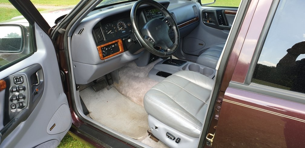 LHD 1997 JEEP GRAND CHEROKEE, 4.0 V8 PETROL,LEFT HAND DRIVE For Sale (picture 4 of 6)
