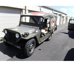 1967 Vietnam Era Mutt Medic Jeep M151 4x4 (Naples, FL) For Sale
