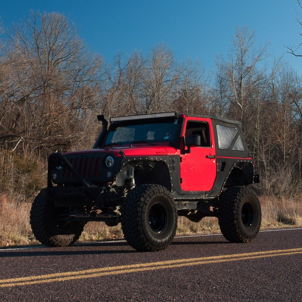 2014 Jeep  = Custom Lifted 1 off mods Manual  $23.9k For Sale (picture 2 of 4)