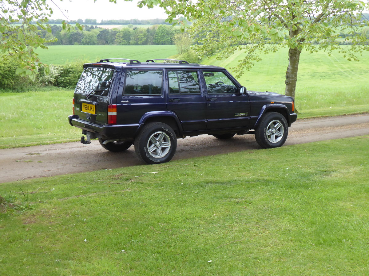 1999 Jeep Cherokee XJ 4.0 Orvis LPG Full Service History For Sale (picture 1 of 4)