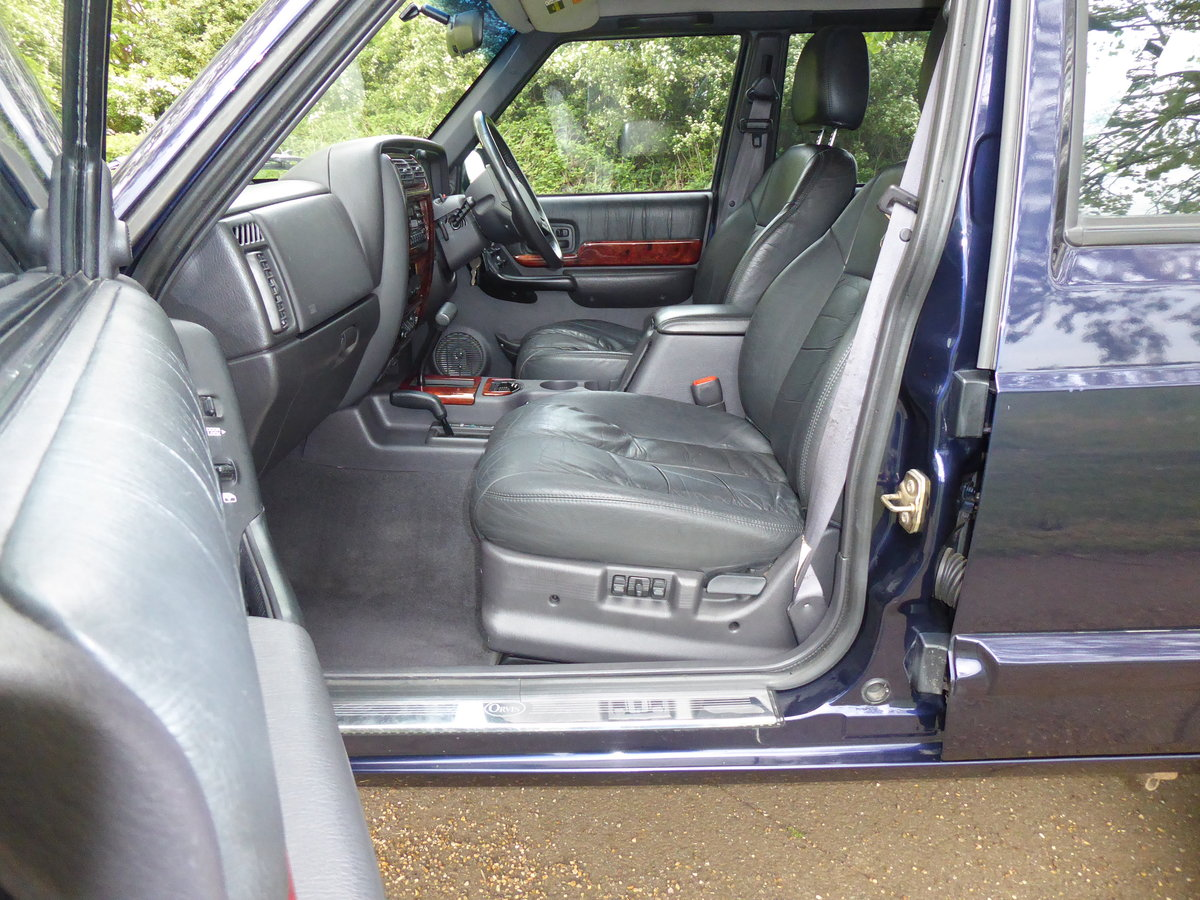 1999 Jeep Cherokee XJ 4.0 Orvis LPG Full Service History For Sale (picture 2 of 4)