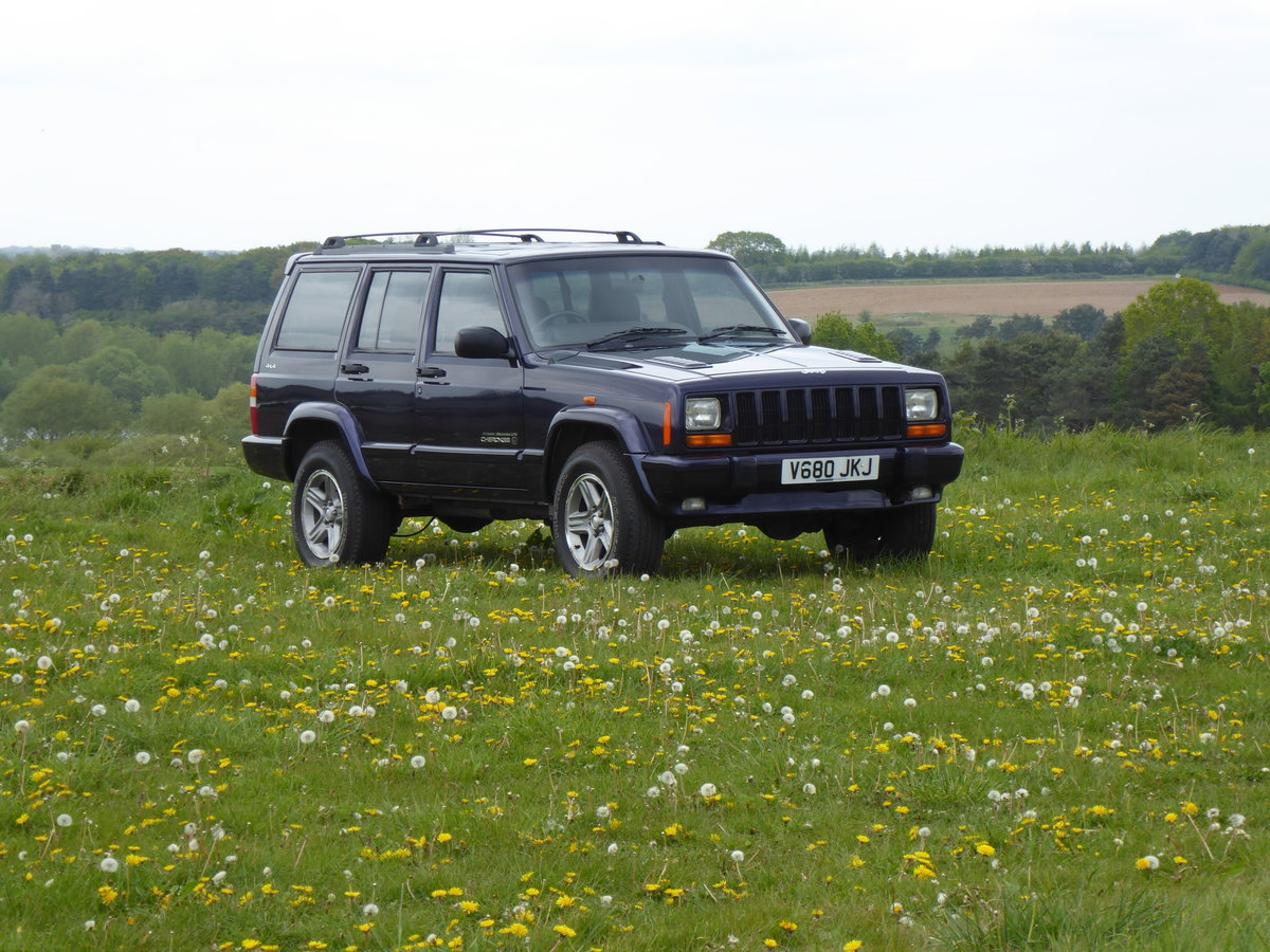 1999 Jeep Cherokee XJ 4.0 Orvis LPG Full Service History For Sale (picture 4 of 4)