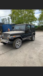 1990 Very rare automatic Jeep Laredo  light restoration