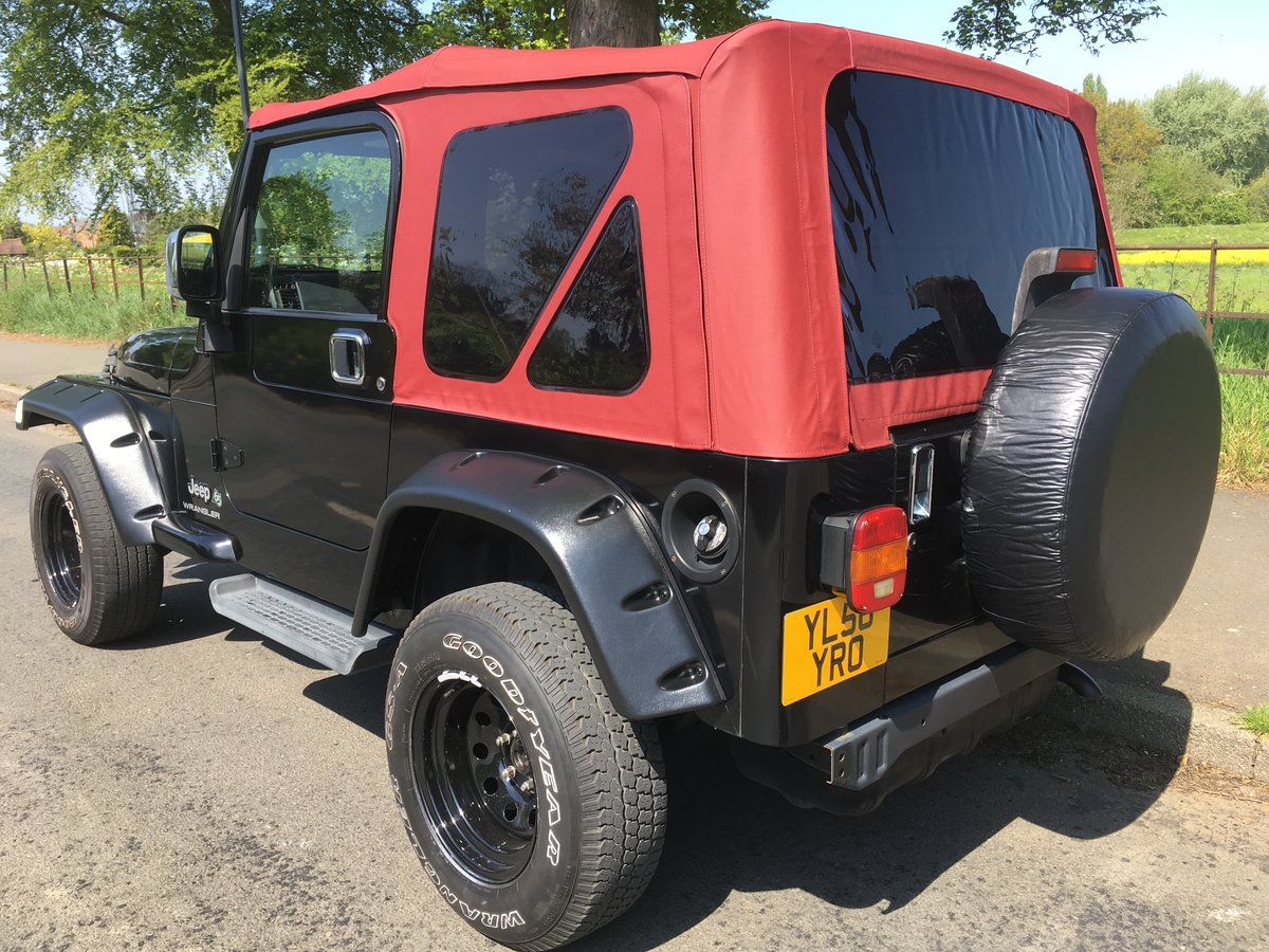 2007 Jeep Wrangler TJ 4.0 Auto 65th Anniversary Edition from For Sale (picture 3 of 6)