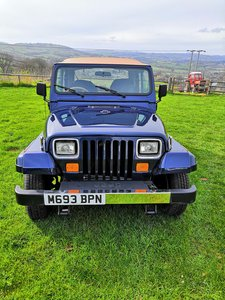 1994 Jeep wrangler yj 4.0 manual
