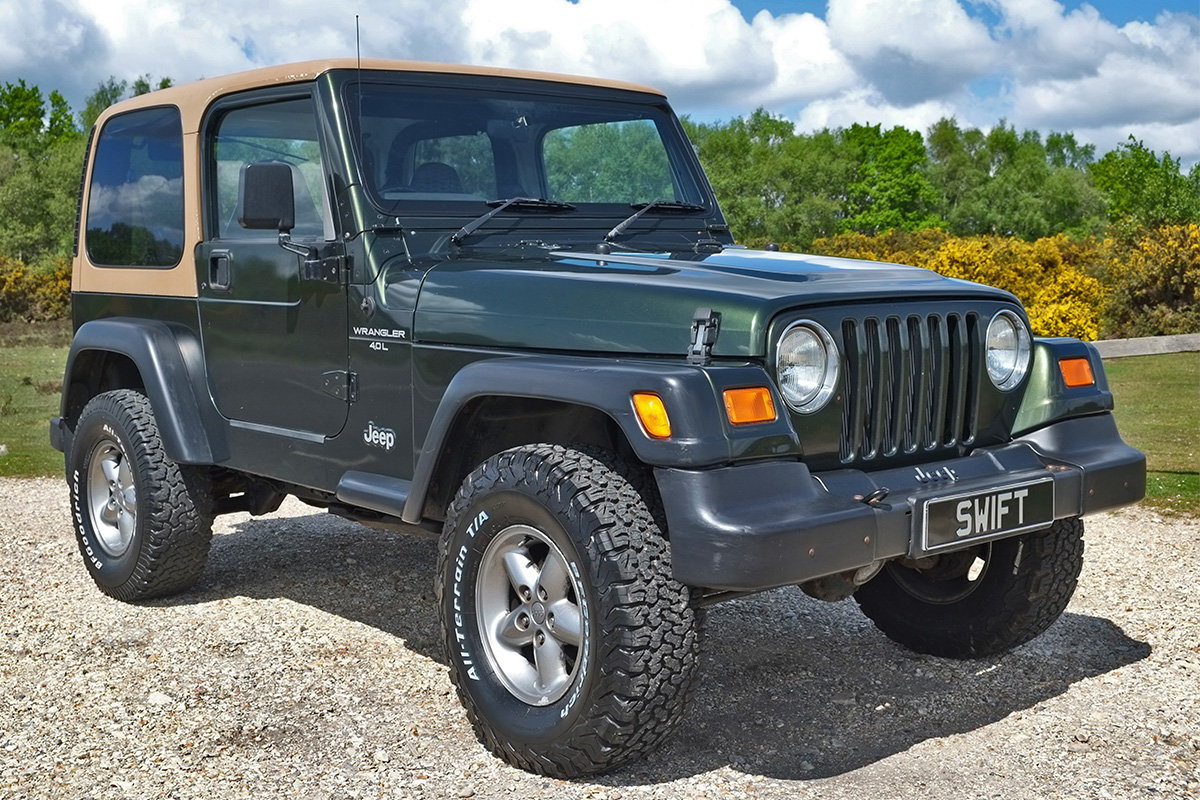 1997 Jeep Wrangler TJ 4.0 Sport Manual Hard Top 4x4 For Sale (picture 1 of 6)