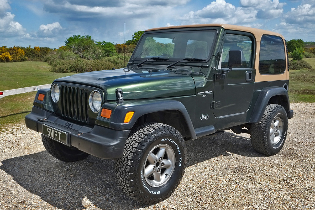 1997 Jeep Wrangler TJ 4.0 Sport Manual Hard Top 4x4 For Sale (picture 2 of 6)
