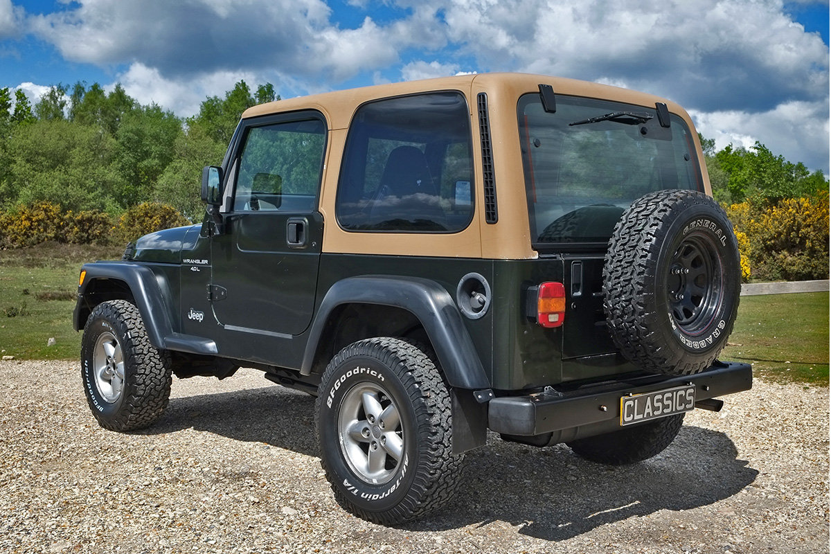 1997 Jeep Wrangler TJ 4.0 Sport Manual Hard Top 4x4 For Sale (picture 3 of 6)