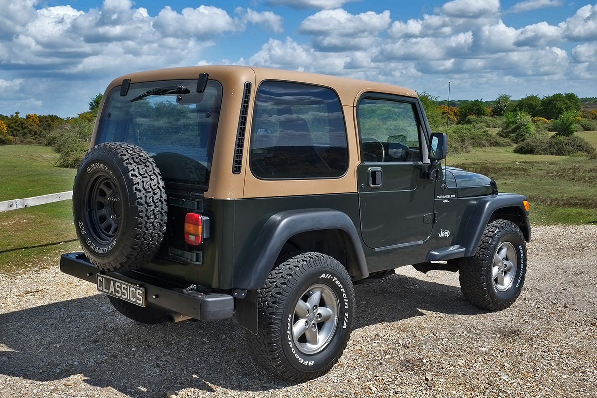 1997 Jeep Wrangler TJ 4.0 Sport Manual Hard Top 4x4 For Sale (picture 4 of 6)