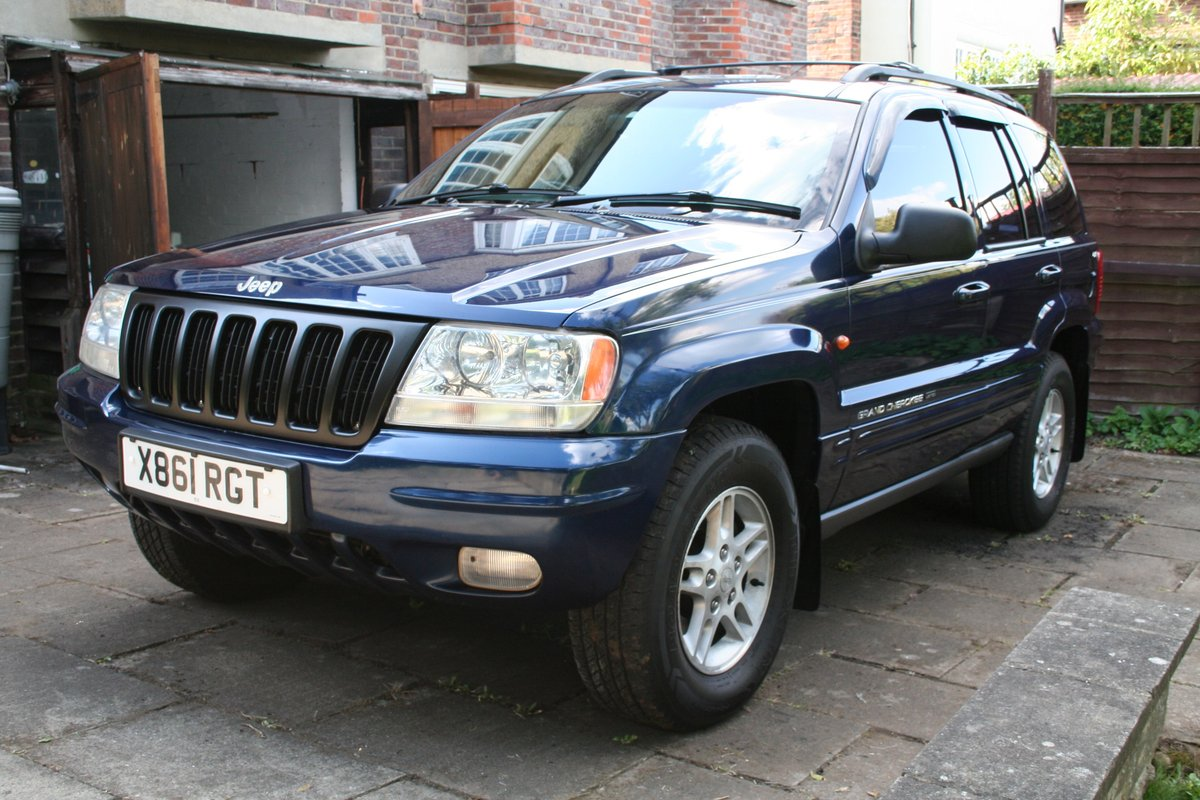 2000 Excellent Jeep Grand Cherokee ltd 4.0ltr petrol For Sale (picture 1 of 6)